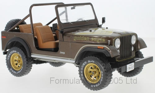 MCG Jeep CJ-7 Golden Eagle - Metallic Brown