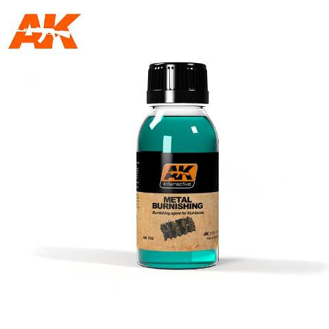 AK-Interactive AK159 Metal Burnishing Fluid