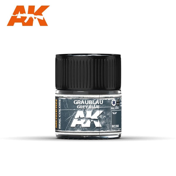 AK-Interactive RC208 Graublau-Grey Blue RAL 5008, 10 ml