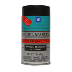 Model Master Tropical Turquoise