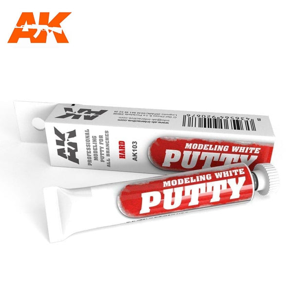 AK-Interactive AK103 Modelling Putty - White - 20ml