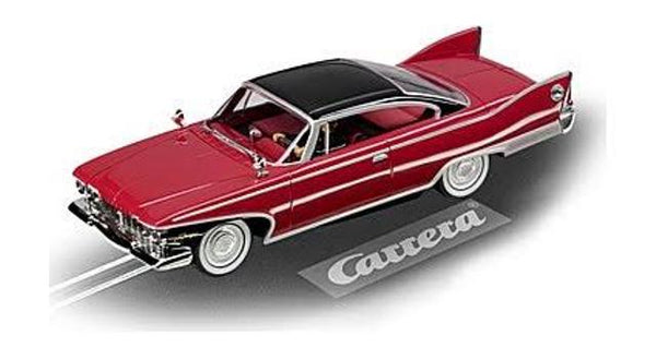 Carrera 132 Plymouth Fury 1960 Red/Black