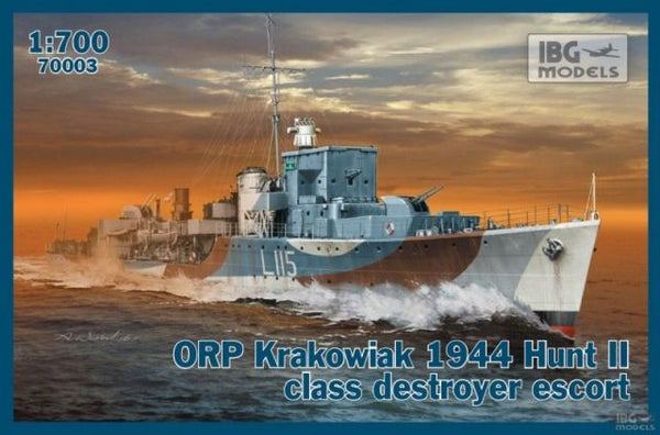 IBG 70003 ORP Krakowiak 1944 Hunt II Class Destroyer Escort