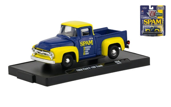 M2 Machines Auto Drivers 1956 Ford F-100 Truck SPAM