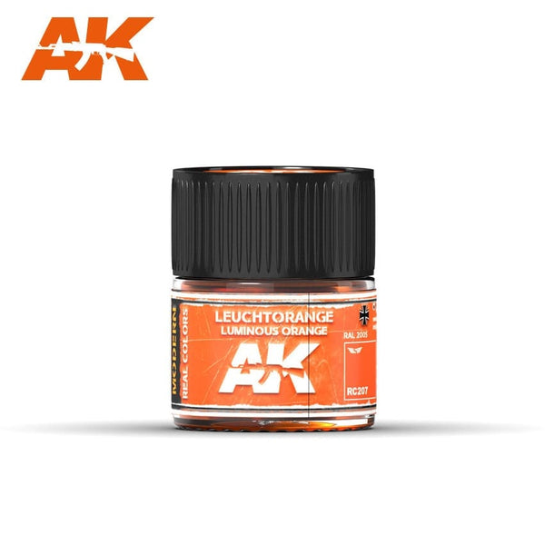AK-Interactive RC207 Leuchtorange-Luminous Orange RAL 2005 10ml