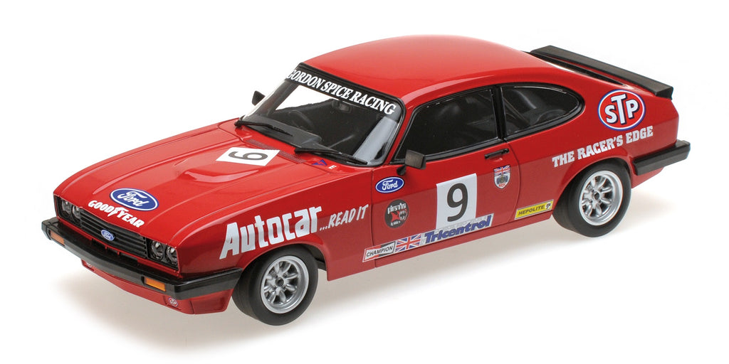 Minichamps 155788609 Ford Capri 3.0S Winner Brands Hatch BSCC 1978