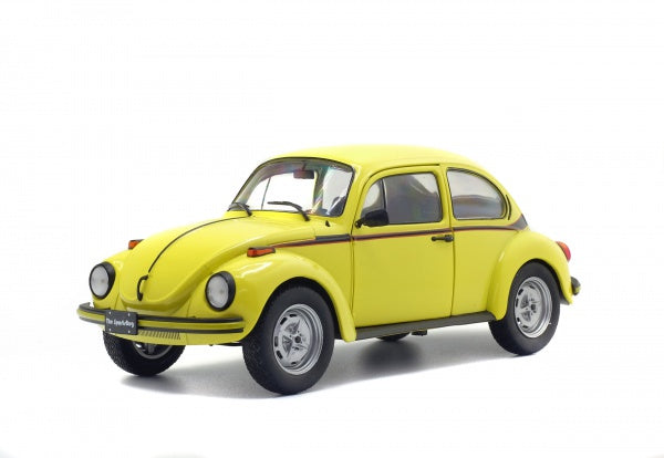 Solido 1800511 1974 Volkswagen Beetle Sport - Yellow