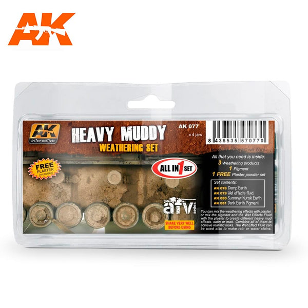 AK-Interactive AK077 Heavy Muddy Set