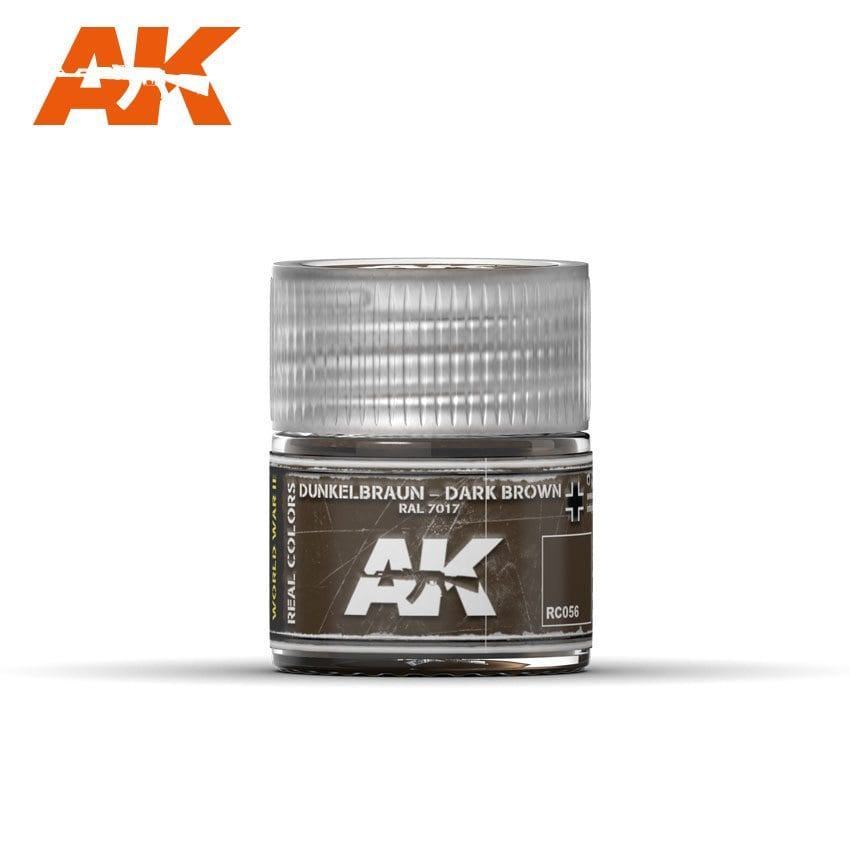 AK-Interactive RC056 Dunkelbraun-Dark Brown RAL 7017 10ml