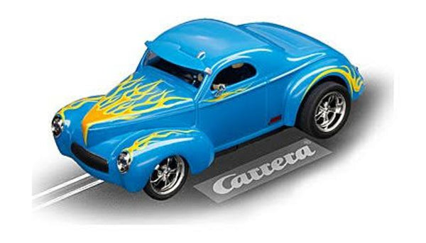 Carrera 132 Willys Coupe 1941 Blue