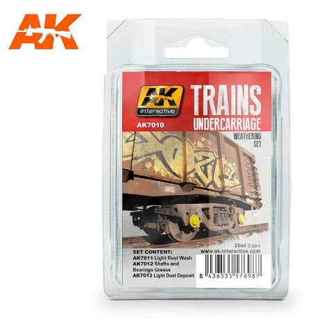 AK-Interactive Rail Undercarriage Weathering Set