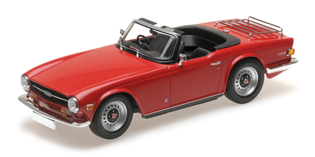 Minichamps 155132031 Triumph TR6 - Red
