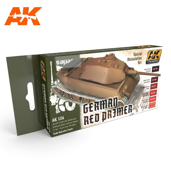 AK-Interactive AK124 Red Primer Modulation Set