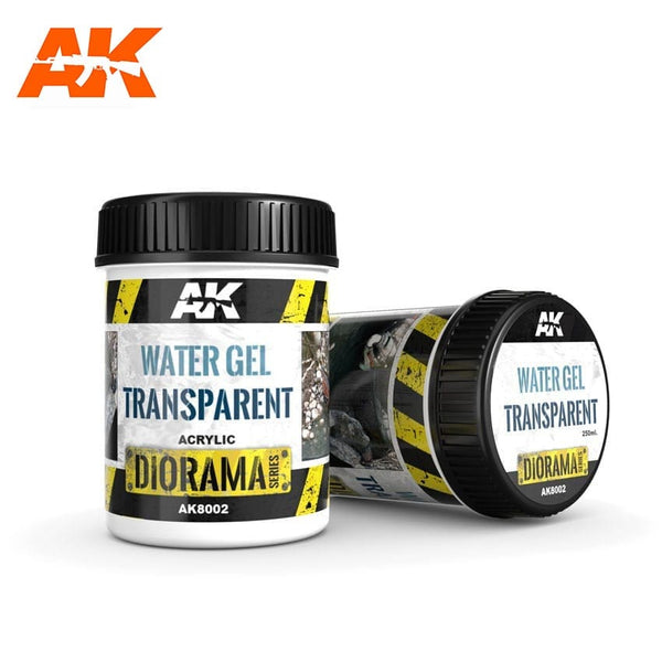 AK-Interactive AK8002 Terrains Water Gel - Transparent - Acrylic 250ml
