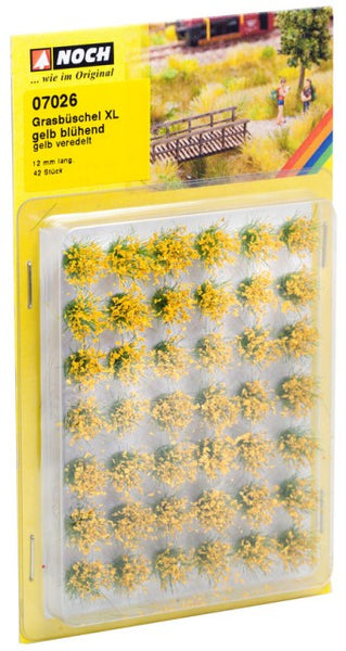 Noch 7026 Tufts - Grass - Field Plants - Flowering Yellow - XL