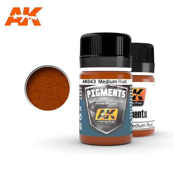 AK-Interactive AK043 Medium Rust Pigment