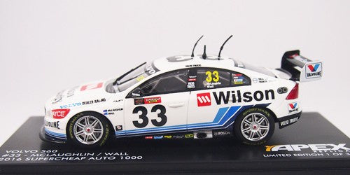 Apex Volvo S60 #33 2016 Bathurst - McLaughlin/Wall