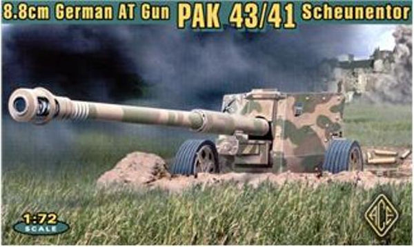 ACE Models 72215 8.8cm German AT Gun PAK 43/41 Scheunentor