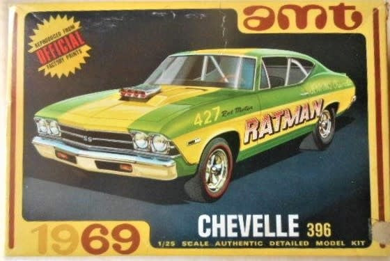 AMT 1138 1969 Chevelle SS 396
