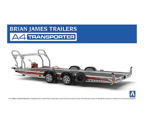 Aoshima Brian James A4 Transporter Trailer