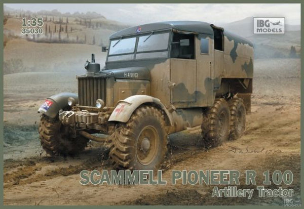 IBG Scammell Pioneer R100 Artillery Tractor