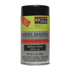 Model Master Sublime Green