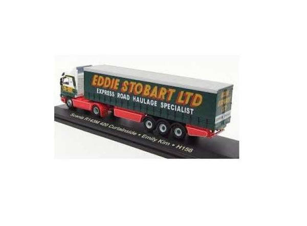 Atlas Stobart Scania R143M 420 Curtainside - Emily Kim H156