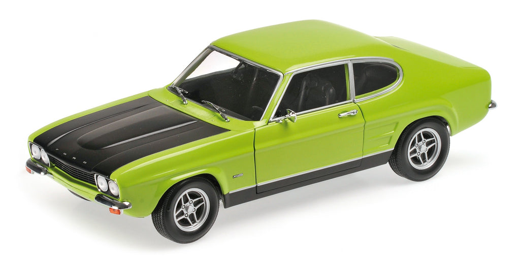 Minichamps 150089075 Ford Capri RS 1970 - Green & Black
