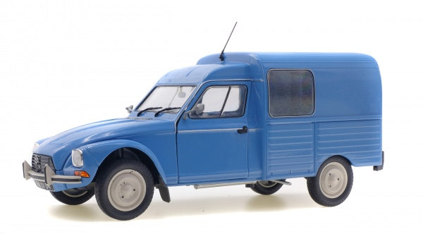 Solido 1800401 1984 Citroen Acadiane - Van 2CV - Blue