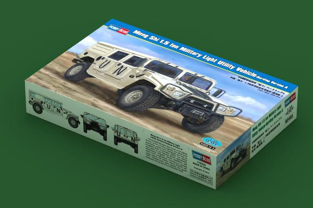 Hobby Boss 82468 Meng Shi 1.5 ton Military Light Vehicle - Hardtop Version A