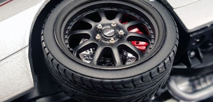 GMP 18817 Street Fighter Wheel & Tire Set