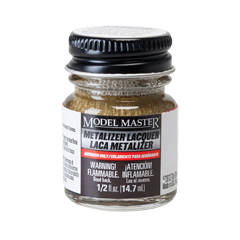 Model Master Metalizer Brass Non Buffing