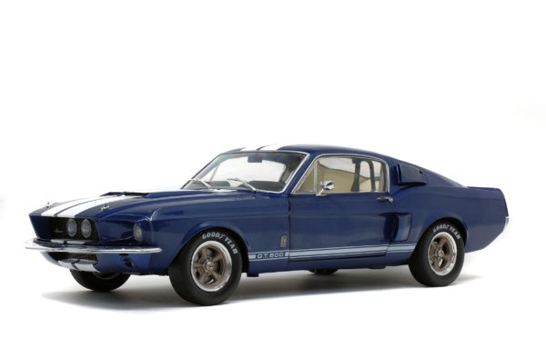 Solido 1802903 Shelby Mustang GT500 - Blue with White Stripes
