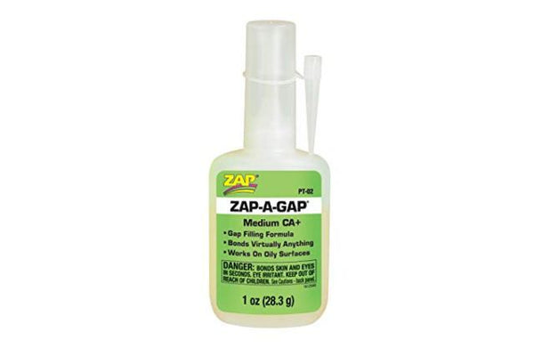 Zap PT02 Zap-A-Gap CA+ Medium Gap Filling 28.3gm - Green