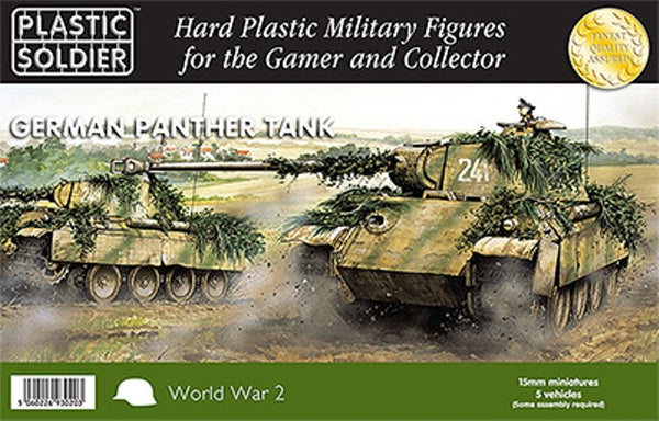 PSC WW2v15012 German Panther Tank