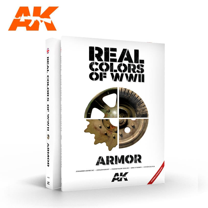AK-Interactive AK299 Real Colors 0f WWII Armor - New 2nd Edition