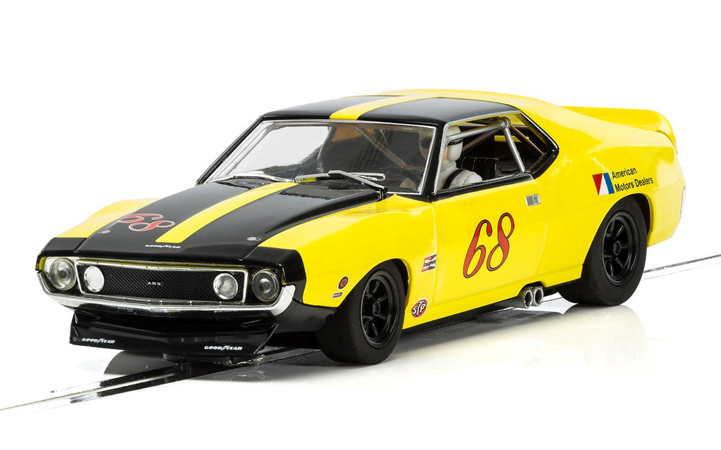 Scalextric C3921 AMC Javelin - #68 Yellow