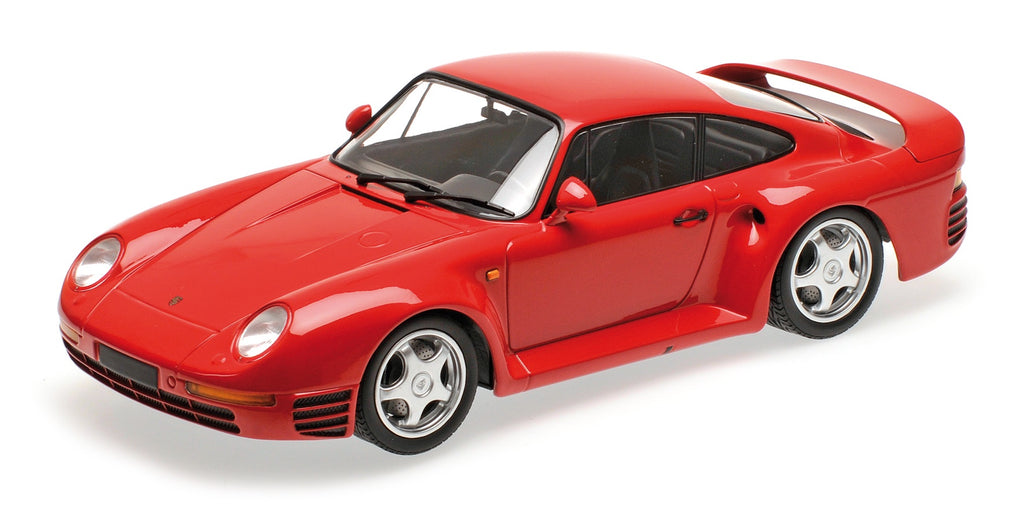 Minichamps 155066200 Porsche 959 1987 Red