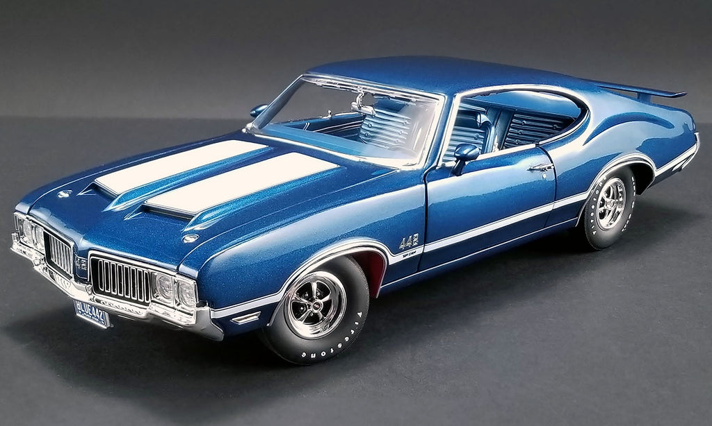 Acme 1970 Oldsmobile 442 W-30 in Twighlight Blue