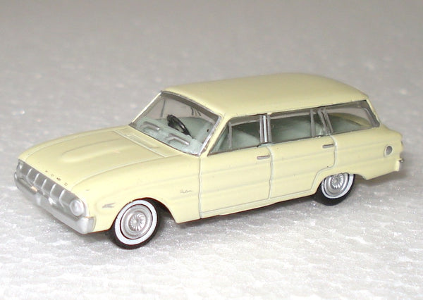 Road Ragers 1962 Ford XL Falcon Wagon Cassea Yellow