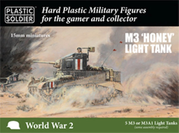 PSC WW2V15033 M3 Honey Light Tank