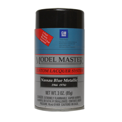 Model Master Nassau Blue Metallic