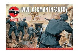 Airfix WWI German Infantry 1:76
