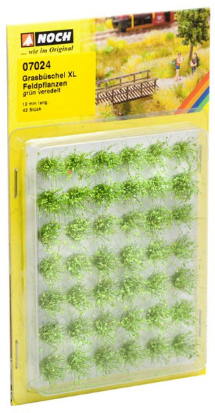 Noch 7024 Tufts - Grass - Field Plants - Flowering Light Green - XL