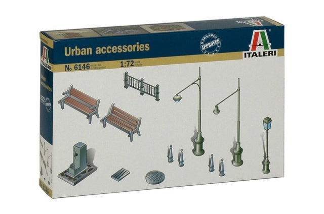 Italeri 6146 Urban Accessories