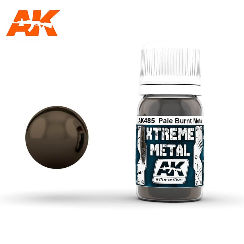 AK-Interactive Xtreme Metal Pale Burnt Metal