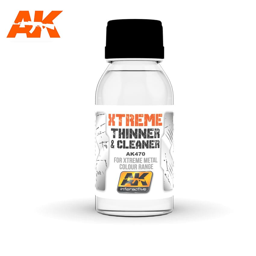 AK-Interactive AK470 Xtreme Metal Cleaner & Thinners