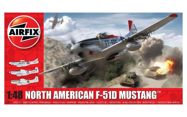 Airfix North American F-51D Mustang� 1:48