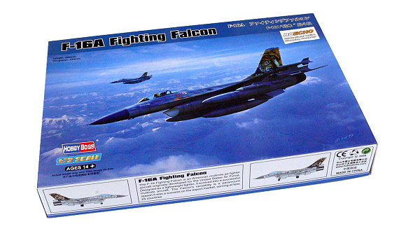 Hobby Boss 80272 1/72 F-16D Fighting Falcon