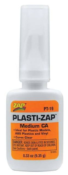 Zap PT19 Plasti-Zap CA - Medium 9.35gm